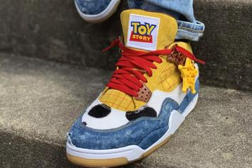 "Air Jordan 4 ""Toy Story 4"" Custom Beautifully Pays Homage To Woody"