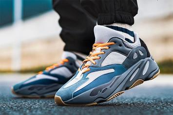 """Adidas Yeezy Boost 700 """"Teal Blue"""" On-Foot Images Revealed"""