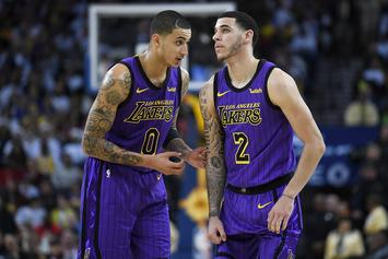 """Kyle Kuzma Misses Lonzo Ball, Claims They Have """"Special Relationship"""""""