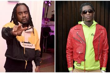 Wale & Young Thug Spotted In The Studio
