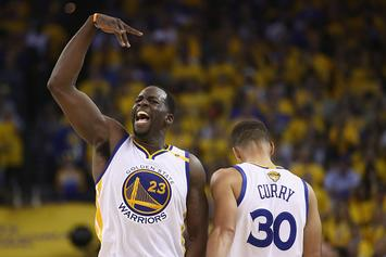 """Draymond Says Warriors Are Embracing Underdog Role: """"I've Missed That Chip"""""""