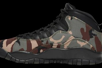 "Air Jordan 10 ""Desert Camo"" Drops In Two Weeks: Best Look Yet"