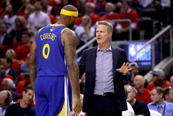 Steve Kerr Reacts With Devastation To DeMarcus Cousins ACL Injury