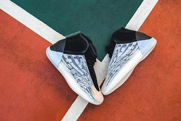 """Adidas Yeezy Basketball """"Quantum"""" Revealed In Detail: On-Foot Images"""