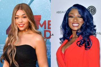 Megan Thee Stallion & Jordyn Woods Friendship Continues On Instagram Live