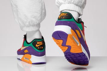 "Nike Air Max 90 ""Viotech"" Coming Soon: On-Foot Images"