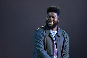 Khalid Debuts New Look With Bright Blue Hair