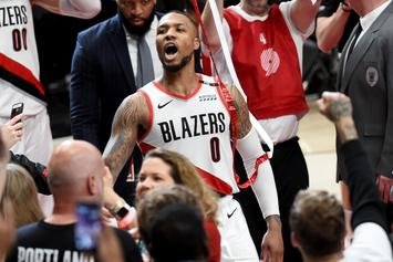 Damian Lillard Reveals How Infamous Thunder Meme Dresses His Home