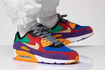 """Nike Air Max 90 """"Viotech"""" Drops Today: Purchase Links"""