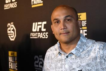 BJ Penn Offered Fair Warning By Chuck Liddell After Recent Street Fights