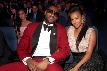 "LeBron James Calls Himself ""Lucky"" While Thirsting Over Wife's Dress"