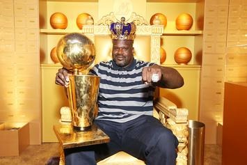 """Shaq Reminds Everyone How """"Lazy"""" He Was With Epic Throwback Photo"""