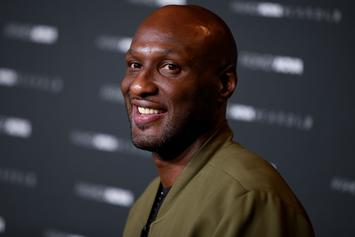 Lamar Odom Can't Keep Sabrina Parr's Toes Out Of His Mouth