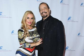 Ice-T's Wife Coco Austin Shares NSFW Photo Of Herself Doing Splits In Bikini