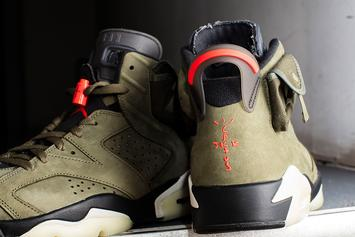 Travis Scott x Air Jordan 6 New Photos Reveal Finer Details: Release Info