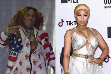 "6ix9ine & Nicki Minaj Have A Chance To Make History With ""FEFE"""