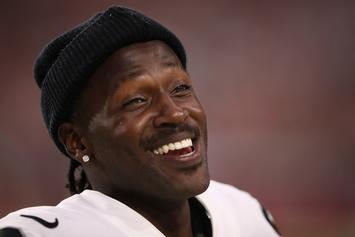 Antonio Brown Finally Breaks His Silence On Raiders Debacle