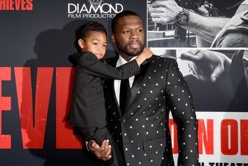 50 Cent Shares Ridiculous Face Swap Of Himself & His Son