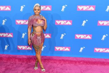 """Blac Chyna Teases New Music After """"Late Night Studio"""" Session"""