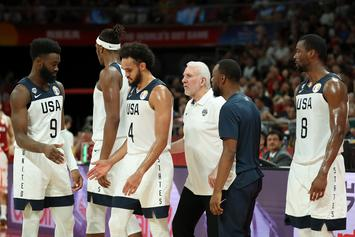 "Coach Gregg Popovich Calls Out Team USA Critics As ""Immature"""
