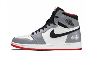 "Air Jordan 1 High OG ""Particle Grey"" Rumored For Next Year: First Look"