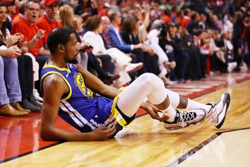 Kevin Durant Displays Quick Achilles Recovery While Walking In NYC: Watch