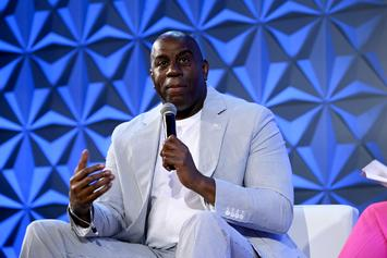 Magic Johnson Pressed By Stephen A. Smith Over Lonzo Ball Pick: Watch