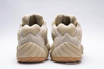 """Adidas Yeezy 500 """"Stone"""" Coming Soon: Detailed On-Foot Photos"""