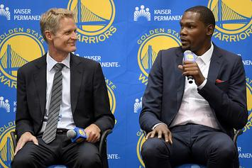 Steve Kerr Responds To Kevin Durant's Criticism Of Warriors Offense