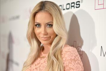 Aubrey O'Day Claims Flight Attendant Made Her Take Off Her Top On Plane