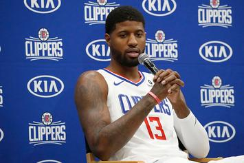 Clippers' Paul George Reveals Timetable For Return Following Shoulder Surgery