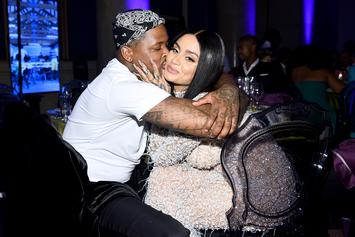 YG Can't Stop Kissing Kehlani In Front Of Cheering Fans During Rolling Loud Set
