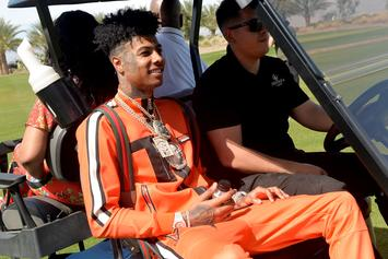 Blueface Boils His Jewelry To Prove He's Not Capping