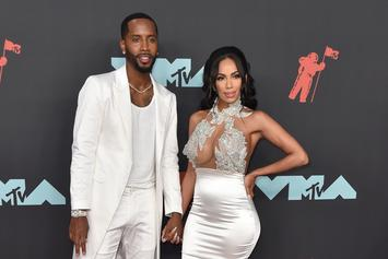Erica Mena & Safaree Samuels Confirm Pregnancy With Bonnie & Clyde Photoshoot