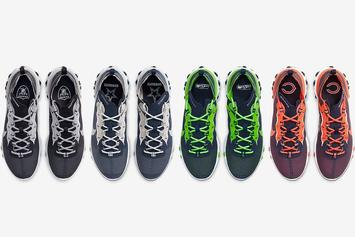 Nike React Element 55 Releasing In 12 NFL Team-Inspired Colorways