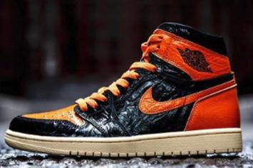 "Air Jordan 1 ""Shattered Backboard 3.0"" Receives Vibrant Lace Swap: Photos"