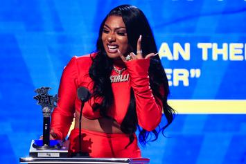 Megan Thee Stallion Thanks Fans After Best Mixtape Win At BET Hip Hop Awards