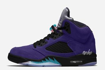 "Air Jordan 5 ""Alternate Grape"" Rumored Release Date Revealed: Details"