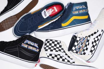 "Supreme x Vans ""F*ck The World"" Collection Drops This Week: Official Photos"