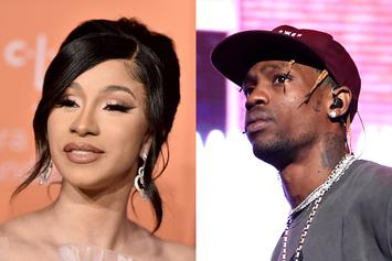 Cardi B Uses Travis Scott As An Example To Inspire Young Rappers
