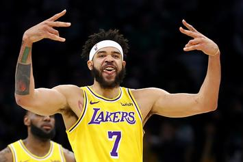 """Lakers' JaVale McGee Has His First """"Shaqtin' A Fool"""" Moment Of The Season: Watch"""