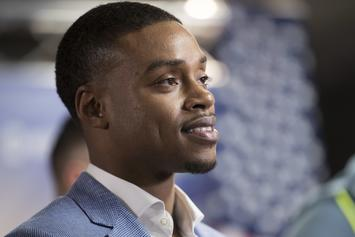 Errol Spence's Graphic Car Crash Captured By Nearby Security Camera