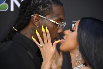 Offset Celebrates Cardi B's Birthday With Tons Of Steamy Make-Out Videos