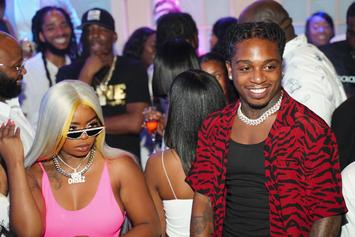 Jacquees Surprises Dreezy With A Room Filled With Rose Pedals