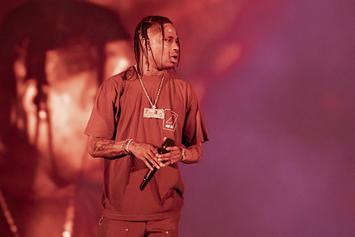 Travis Scott Injures Knee During Rolling Loud New York Performance