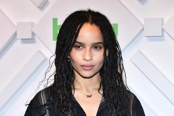 """Zoe Kravitz Cast As Catwoman In The Forthcoming Film """"The Batman"""""""