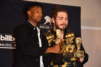 Post Malone Gifts 21 Savage An Icy Rolex For His Birthday