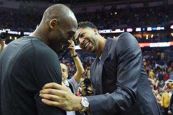 Kobe Bryant Explains How Anthony Davis Became His Pupil In 2012