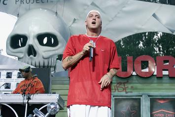 """Eminem's """"Curtain Call: The Hits"""" Spends 9 Years On Billboard 200"""