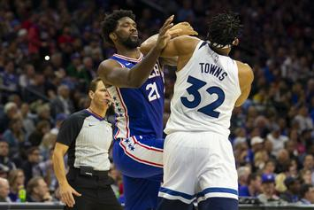 Joel Embiid & Karl-Anthony Towns Trade Shots On Twitter After Massive Fight